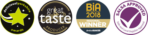 Award winning bakery - industry awards and approvals
