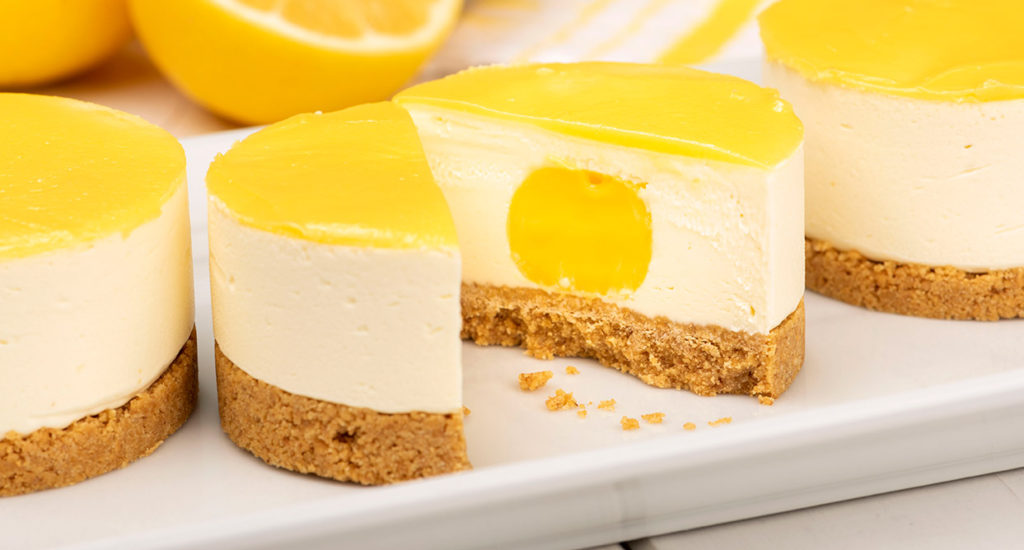 Just desserts - lemon cheesecake